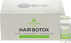 Kallos Cosmetics Hair Pro-Tox Ampoule Anti Dandruff 6x 10ml
