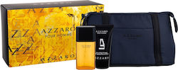 Azzaro Pour Homme Edt 30ml + Shower Gel 50ml+ Cosmetic Bag
