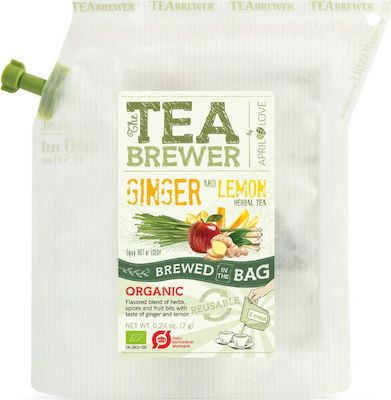 Grower's cup The Teabrewer Ginger & Lemon 7gr