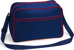 Bagbase BG14 French Navy / Classic Red
