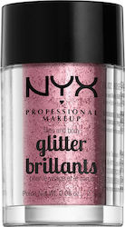 Nyx Professional Makeup Face & Body Glitter Rose Pink 2.5gr
