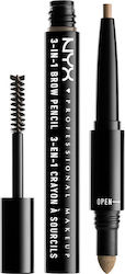 Nyx Professional Makeup 3-in-1 Brow Pencil Blonde