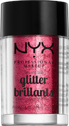 Nyx Professional Makeup Face Body Glitter Red 2.5gr
