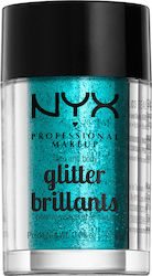 Nyx Professional Makeup Face & Body Glitter Teal 2.5gr