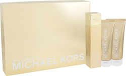 Michael Kors 24k Brilliant Gold Eau de Parfum 100ml, Body Lotion 100ml & Shower Gel 100ml