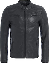 Superdry D5 Leather Quilt Racer M50004AO-02A