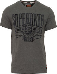 Superdry Union Supply Classic Anthracite