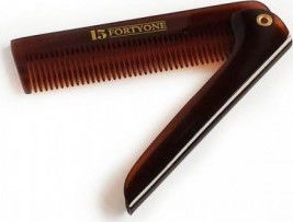 1541 London Slim Pocket Hair Folding Comb BC7