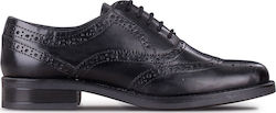 Oxford and Brogues γυναικεία SG Shoes Μαύρο WS-177R10