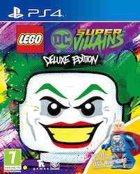 LEGO DC Super-Villains (Deluxe Edition) PS4