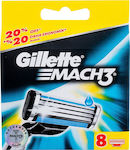 Gillette Mach3 Replacement Blade 8τμχ