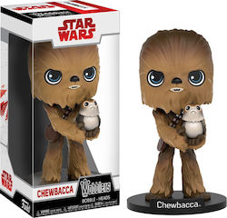 Wobblers Movies: Star Wars - Chewbacca with Porg