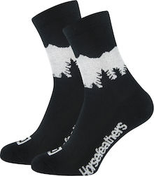 HORSEFEATHERS TIMBER SOCKS BLACK