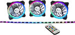 Inter-Tech Argus RGB-Fan Set RS03 120mm