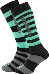 HORSEFEATHERS ZANE LONG THERMOLITE SNOW SOCKS MISTY JADE