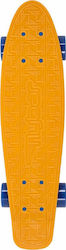 "Flybar 22"" Plastic Complete Skateboard Orange"