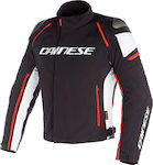 Dainese Racing 3 D-Dry Black/White/Fluo-Red
