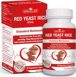 Natures Aid Red Yeast Rice 10mg 30 φυτικές κάψουλες