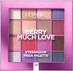 L'Oreal Eyeshadow Mega Palette 02 Berry Much Love
