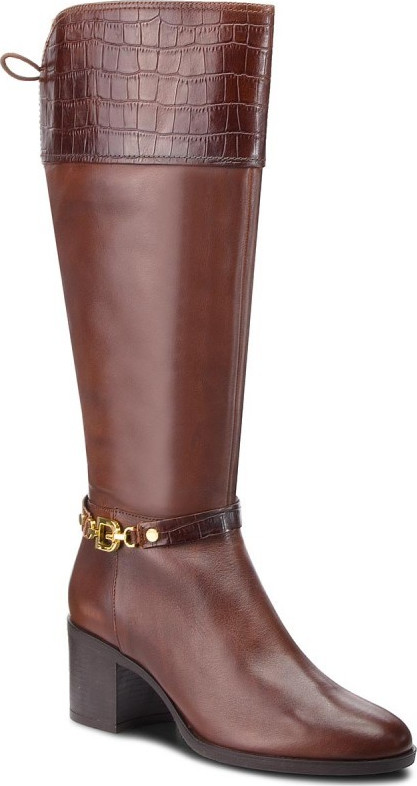 Stiefel GEOX D Glynna C D843CC 0436Y C0013 Brown