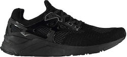 Everlast Yon Caged Trainers 121021 Black/Black