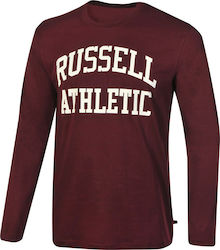 Russell Athletic LS CREWNECK TEE LOGO PRInt A8-003-2-505