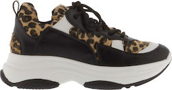 FUNKY BUDDHA W FBL111-08218 WOMAN SHOES ATHLETIC - FBL111-08218-LEOPARD LEOPARD