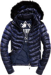Superdry Luxe Chevron Fuji Navy