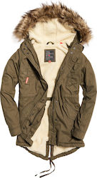 Superdry Heavy Weather Rookie Fishtail Khaki