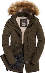 Superdry New Model Microfibre Green