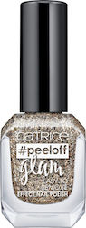 Catrice Cosmetics Peeloff Glam Easy To Remove Effect Nail Polish 03 When In Doubt Just Add Glitter