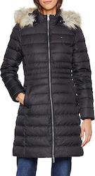 Tommy Hilfiger Essential Hooded Down Coat Black