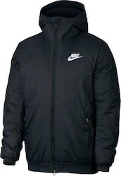 Nike Synthetic Fill Hooded Jacket 928861-010 46d727c576d