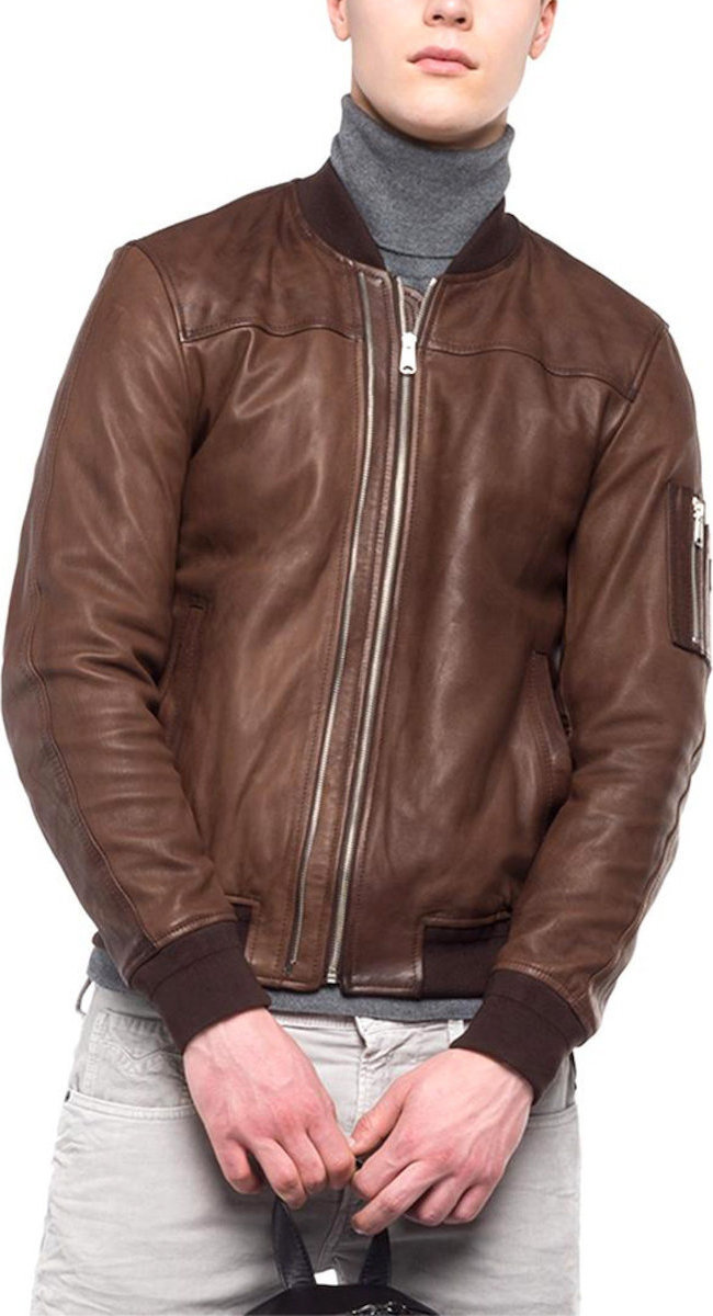 REPLAY JACKET ΜΠΟΥΦΑΝ ΑΝΔΡΙΚΟ REPLAY ΚΑΦΕ (M8948.000.83056-035 ... 332a79623d7