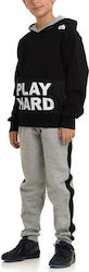 DANSPORT KIDS TRACKSUIT TWO COLOR ST. PLAY HARD (15073-02)