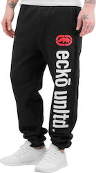 ECKO UNLTD 2FACE SWEATPANTS BLACK