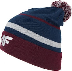 3c32e672950 Προσθήκη στα αγαπημένα menu Winter hat 4f M H4Z18-CAM009 - navy-maroon