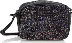 Superdry Delwen Disco Cross Body Bag -Black (Τσάντες Γυναικείο Synthetic leather Black - G91006SR/02A)