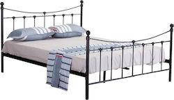 e3714248678 Sophie Sandy Rusty Κρεβάτι Διπλό Μεταλλικό 160x200cm.