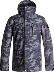 QUIKSILVER MEN MISSION SNOW JACKET EQYTJ03128-KVJ9