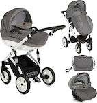 Lorelli Bertoni Mia 3 in 1 with Air Wheels Grey