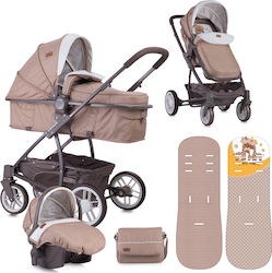 Lorelli Bertoni S500 Combi Set 3 in 1 10020851803 Beige & Yellow Happy Family