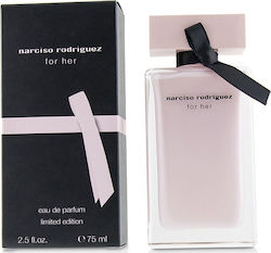 Narciso Rodriguez For Her Eau de Parfum 75ml Limited Edition