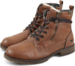 Mustang Men Boots 4119602 Καφέ