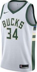 Nike NBA Milwaukee Bucks Jersey Giannis Antetokounmpo 864429-100 7d7b9ea3828