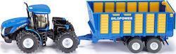 Siku Tractor with Silage Trailer