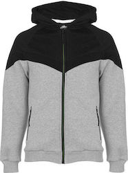 Everlast Premium Zipped Hoody 532562 Grey Marl