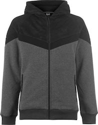 Everlast Premium Zipped Hoody Charcoal/Camo