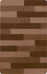 Dimitracas Πατάκι Μπάνιου 55x65 Plank Brown