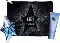 Mugler Angel Couture Set Εau de Parfum Refillable 25ml, Body Lotion 50ml & Cosmetic Bag